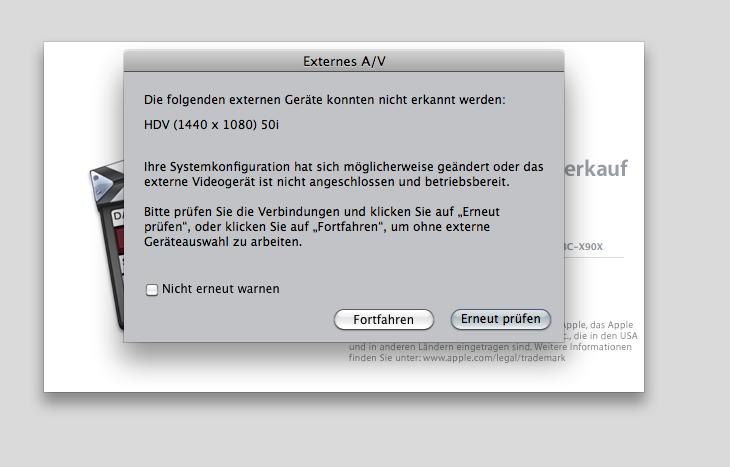 festplatte wird nicht erkannt mac
